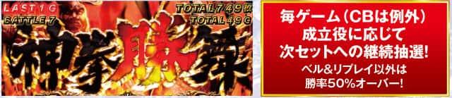 北斗の拳 修羅の国篇の神拳勝舞中の各種ポイントの紹介