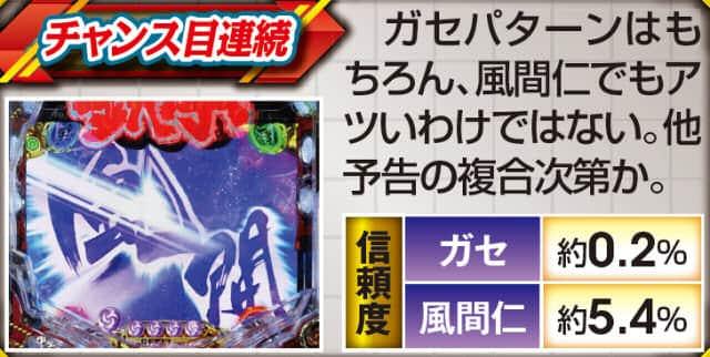 CR鉄拳2闘神ver.のチャンス目連続の紹介