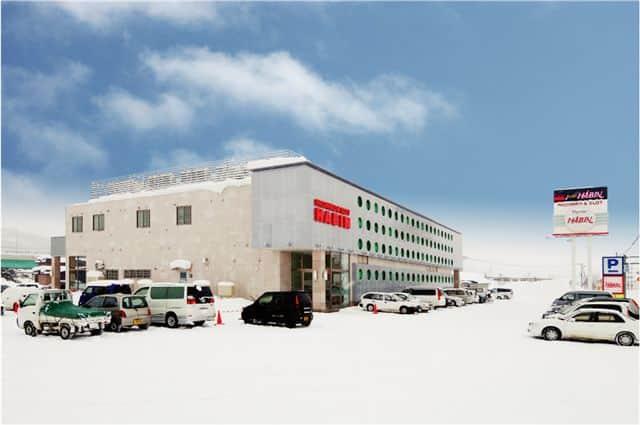 北海道 パーラーハビン芦別店 芦別市上芦別町 外観写真