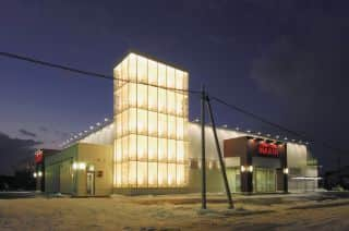 北海道 パーラーハビン深川店 深川市3条 外観写真