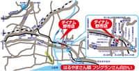 高知県 ダイナム野市店 香南市野市町西野 案内図