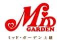新潟県 ミッド・ガーデン上越店 上越市大道福田 ロゴ