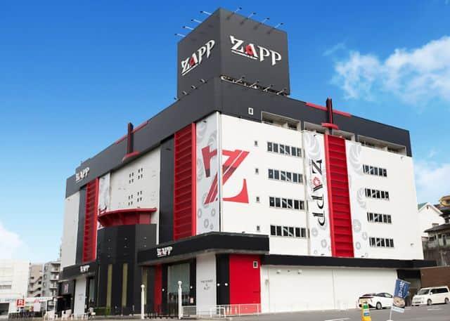 広島県 スロット ZAPP 広島市安芸区中野東 外観写真