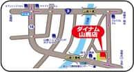熊本県 ダイナム山鹿店 山鹿市志々岐 案内図