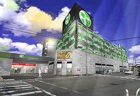 大阪府 ラクエンプラス 堺市西区浜寺船尾町東 外観写真