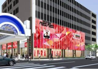北海道 ベガスベガス狸小路店 札幌市中央区南2条西 外観写真