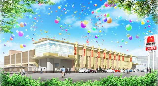 神奈川県 マルハン横浜町田店 横浜市瀬谷区目黒町 外観写真