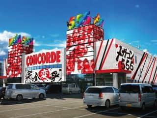 愛知県 メガコンコルド555西尾店 西尾市米津町 外観写真
