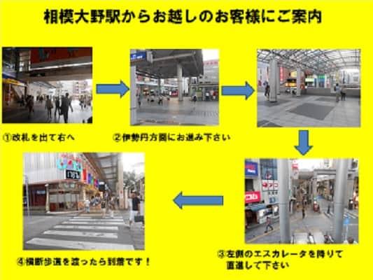 神奈川県 相模大野UNO 相模原市南区相模大野 案内図