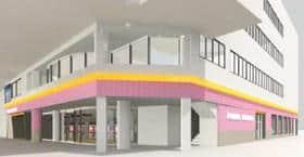 愛媛県 POWER STATION 一番町店 松山市大街道 外観写真