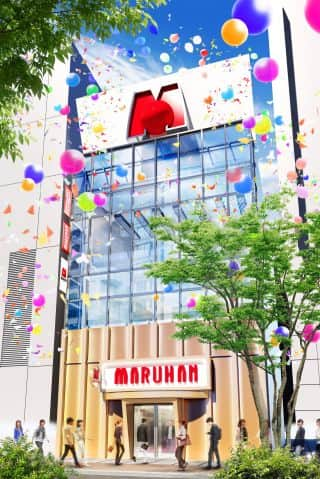 東京都 マルハン新宿店 新宿区新宿 外観写真