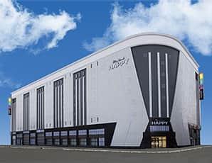 北海道 プレイランドハッピー南6条店 札幌市中央区南6条西 外観写真