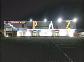 宮城県 パチンコ&スロット PAZ 仙台市宮城野区福室 外観写真