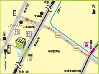 大阪府 MINATO 堺市堺区出島海岸通 案内図