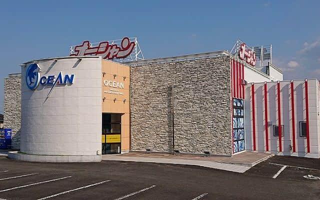宮崎県 パーラーオーシャン谷頭駅前店 都城市菓子野町 外観写真