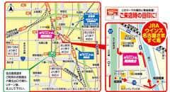 愛知県 プレイランドキャッスル尾頭橋店 名古屋市中川区尾頭橋 案内図