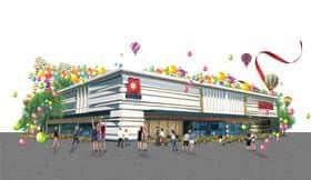 栃木県 マルハン鹿沼店 鹿沼市茂呂 外観写真
