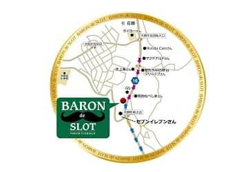 鹿児島県 パーラー21バロン 鹿児島市吉野町 案内図