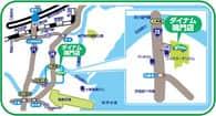 徳島県 ダイナム鳴門店 鳴門市大津町徳長 案内図