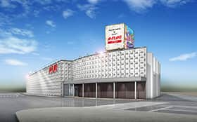 愛知県 パチンコ&スロット A-FLAG 西尾一色店 西尾市一色町対米 外観写真
