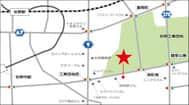 栃木県 ダイナム栃木佐野高萩店 佐野市高萩町 案内図