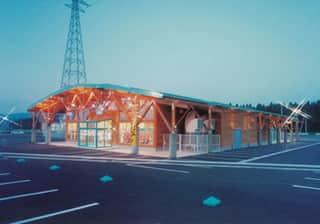 秋田県 ダイナム横手店 横手市婦気大堤 外観写真