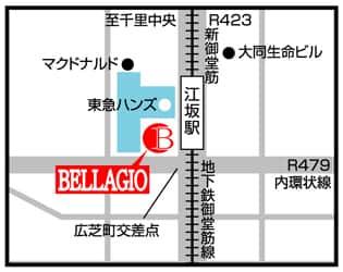 大阪府 ベラジオ江坂 吹田市豊津町 案内図