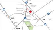 埼玉県 ダイナム埼玉所沢店 所沢市下富 案内図