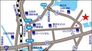 宮崎県 ダイナム日向店 日向市日知屋 案内図