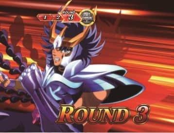 聖闘士星矢(セイントセイヤ)海皇覚醒のGBラウンド開始画面の一輝
