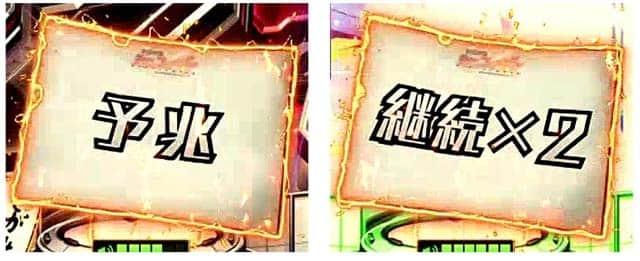 CRフィーバー戦姫絶唱シンフォギアの保留変化予告の信頼度