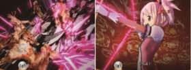 門のカタチをした得体の知れない魔女とまどかが闘う