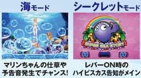 パチスロ スーパー海物語IN沖縄2の告知モードの紹介