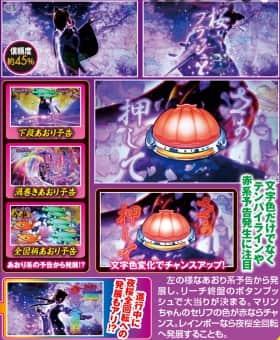 スーパー海物語IN沖縄4桜バージョンの夜桜の舞の紹介