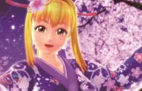 夜桜の波紋リーチ