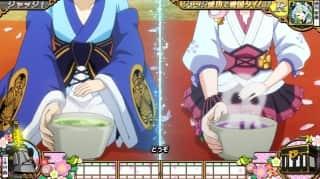 戦コレ徳川家康の茶道で和を極めろ!チャンスアップ(ドクロのお茶)