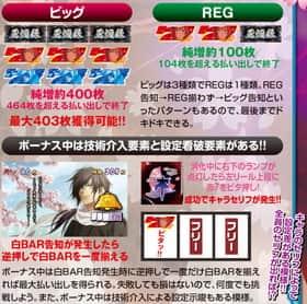 薄桜鬼蒼焔録のボーナス獲得枚数の紹介
