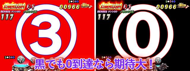 真・北斗無双 幻闘RUSH 透過カウントダウン予告
