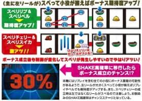 SHAKEⅢ SIDE-Aのスベリシステム
