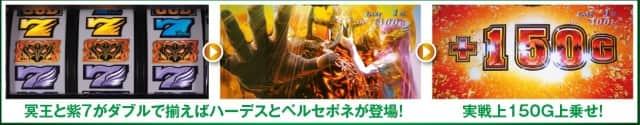 新台ハーデス2冥王のジャッジメント(アナザーレジェンド)