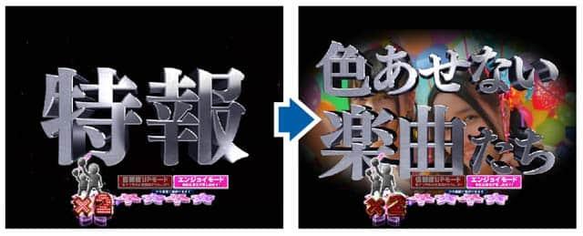 ぱちんこAKB48桜ライトの予告信頼度