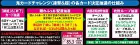 鬼浜爆走紅蓮隊 愛の鬼カードチャレンジの各カード決定抽選の仕組み