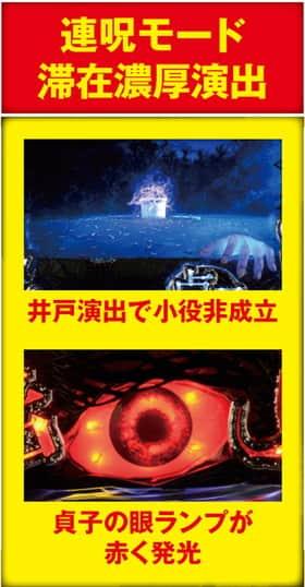 貞子3Dの連呪モード滞在濃厚演出の紹介