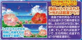 CRスーパー海物語IN沖縄4のハイビスカスモード中・予告アクションの紹介