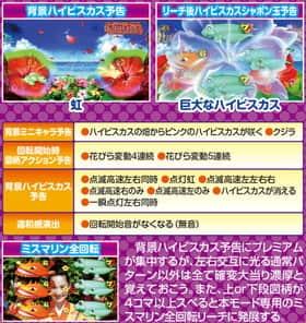 スーパー海物語IN沖縄4 MTCのハイビスカスモードプレミアム演出の紹介