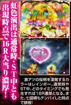 CR織田信奈の野望 虹色演出 信頼度