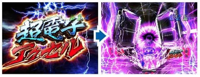 仮面ライダー 闇のバトルの超電子アクセル演出の信頼度