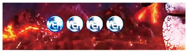 甘デジ ぱちんこウルトラ6兄弟ライトバージョンのウルトラ6兄弟RUSH中のリーチ信頼度
