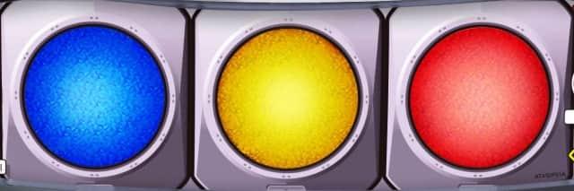 化物語2 スロットの信号機