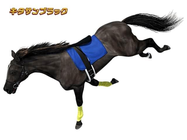 G1優駿倶楽部2(ダービークラブ2)のキタサンブラックの天井短縮